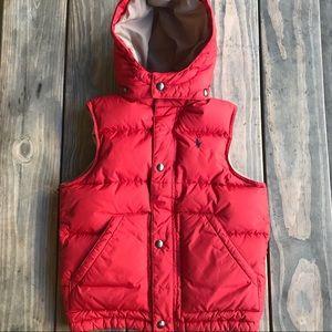 Polo Ralph Lauren toddler puffy down vest